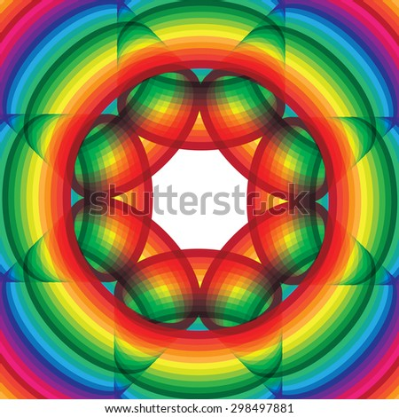 Colorful abstract vector design - stock vector