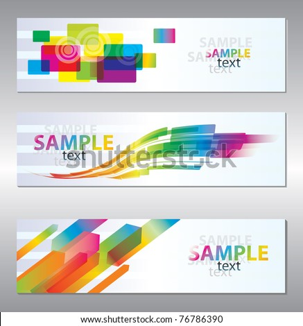 Colorful background for design - stock vector