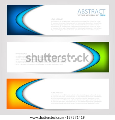 Colorful background vector illustration paper overlap dimension on white line for text and message modern website design - stock vector