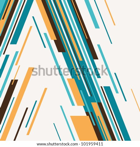 Colorful background with abstraction. Vector illustration. - stock vector