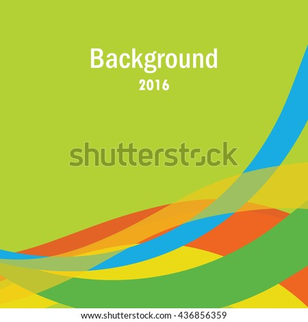 Colorful background with copy space