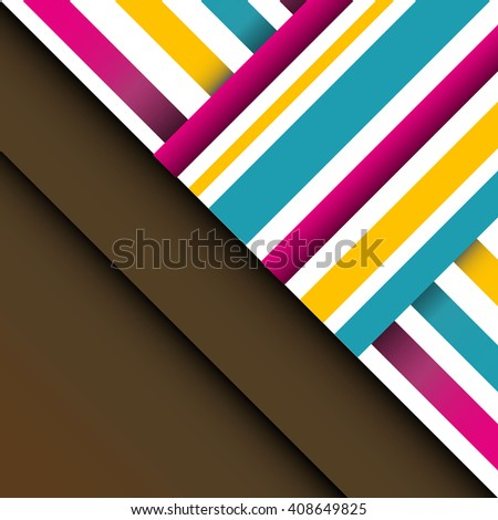 Colorful background with designed elegant abstraction. - stock vector