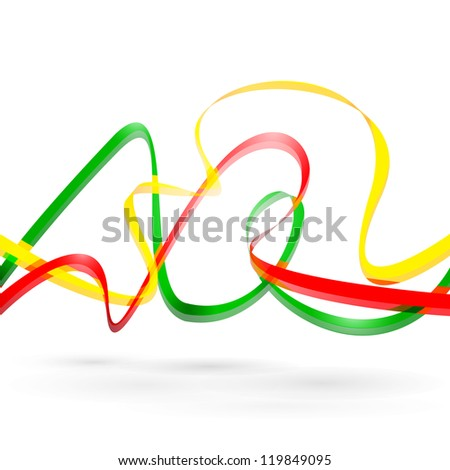 Colorful background with designed elegant abstraction. Vector illustration. - stock vector