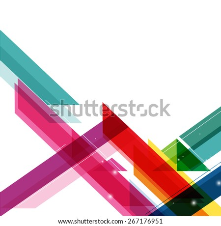 Colorful background with designed elegant abstraction. vector web design template  - stock vector