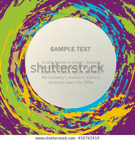 Colorful background with place for text. vector illustration eps10 light - stock vector