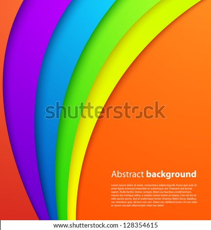 Colorful background with shadow. Vector background - stock vector