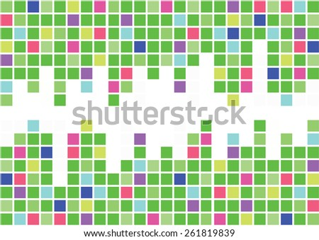 colorful background with space - stock vector