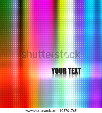 colorful beautiful background - stock vector