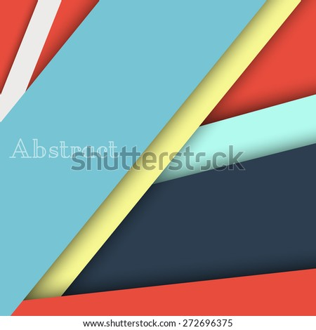 Colorful blank background - Vector Design Concept. - stock vector