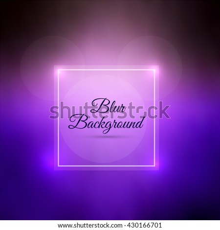 Colorful blur background - stock vector