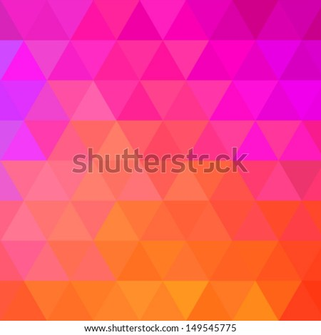 Colorful Bright Geometric Background. Vector illustration  - stock vector
