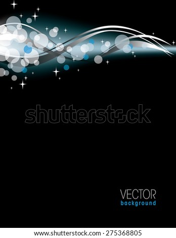 Colorful Bright Sparkly Background. - stock vector
