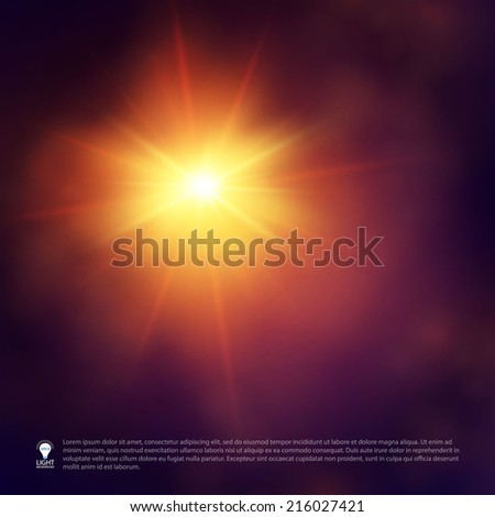 Colorful concept light background. Vector illustration  - stock vector