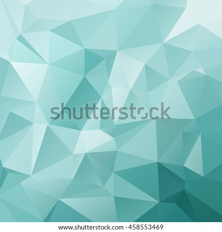 Colorful crystal polygonal background.