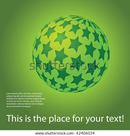 Colorful digital globe design vector