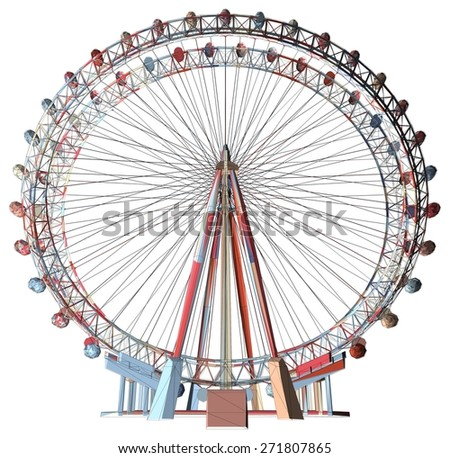 Colorful Double Carousel Vector 34