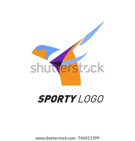 sport logo insult Example of a sports logo / globe logo from the design portfolio of biz-logocom.