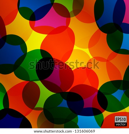 Colorful Easter Eggs | EPS10 Vector - stock vector
