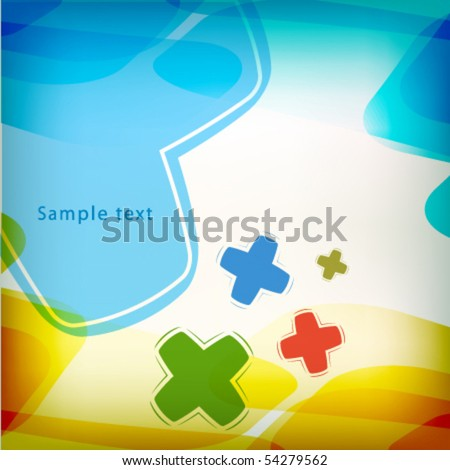colorful funny childish background design