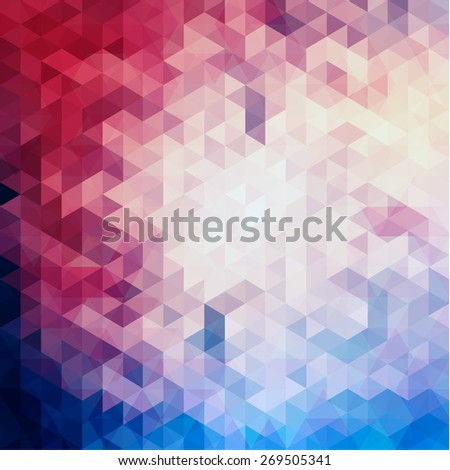 Colorful geometric background - eps10 vector - stock vector