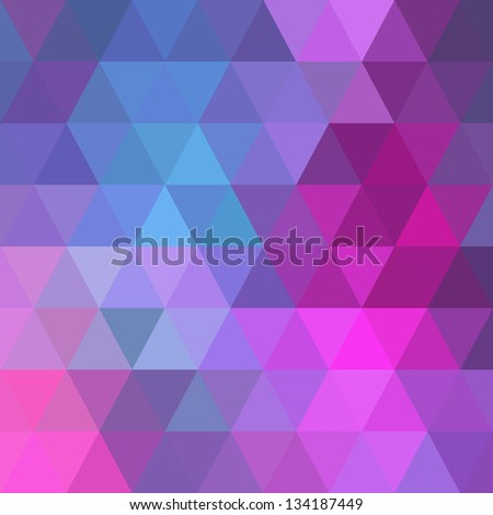 Colorful geometric background with triangles. Vector EPS10. - stock vector