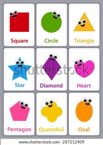 Learning Geometric Shape Stock Images Royalty Free Images