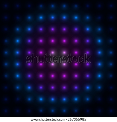 Colorful Glowing Lights - Abstract Background - vector eps10 - stock vector
