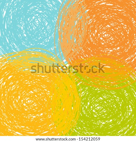 colorful grunge background, abstract vector illustration - stock vector