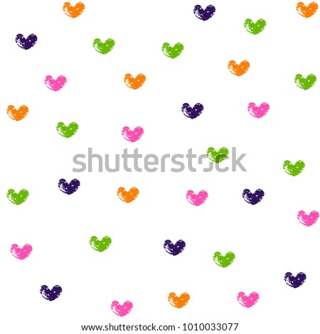 colorful grunge heart symbols on white stock photo photo vector rh shutterstock com grunge texture vector download grunge texture vector free download