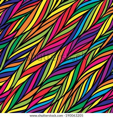 Colorful herringbone pattern. Abstract wallpaper. Vector illustration. - stock vector
