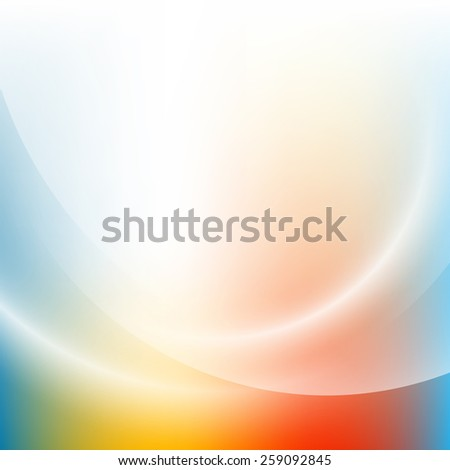 Colorful light gradient abstract background - stock vector