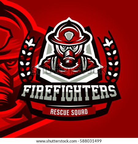 colorful logo badge logo fire department stock vector firefighter logos and designs firefighter logo sunglasses