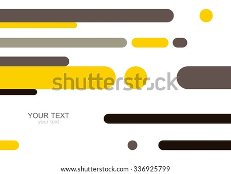 Colorful modern geometric abstract background template with designed ornament shapes. Vector pattern abstraction beautiful illustration with place for your text. Poster, business card, book, banner. - stock vector