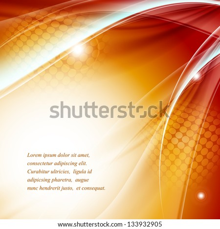 colorful modern vector template with copy space. Eps10 - stock vector