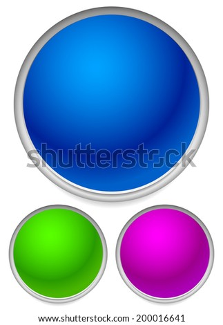 Colorful Orbs - stock vector