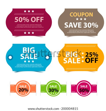 Coupon Template Images RoyaltyFree Images and Vectors – Coupon Sheet Template