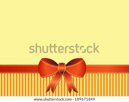 colorful ribbon on background illustration