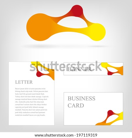 Clusterxs print media templates set on shutterstock colorful round metaballs round for infographics presentation and corporate style pronofoot35fo Choice Image