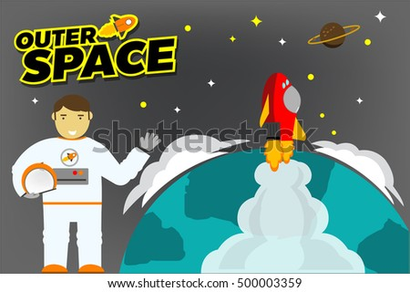 Background female silouette stock vector 22357903 for Outer space garden design