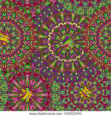 Vector Tropical Plant Leaves Seamless Pattern Stock Vector ...