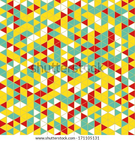 Colorful seamless pattern. Vector Illustration.