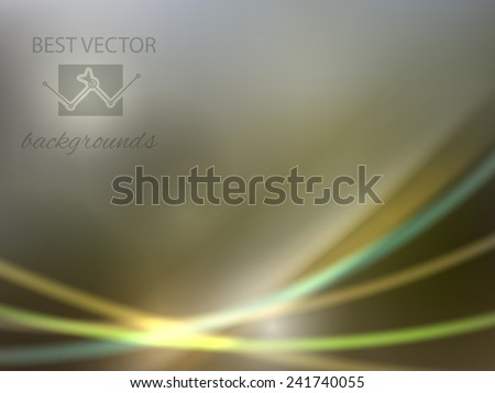 Colorful smooth bottom light lines background.