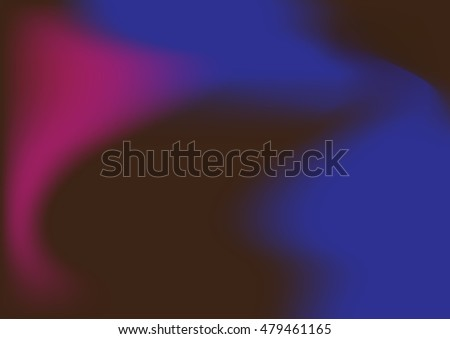 Colorful smooth curve blue and purple vector texture.Beautiful abstract elegant futuristic background.
