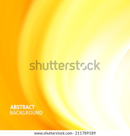 Colorful smooth light lines background. Vector illustration, eps 10, contains transparencies - stock vector