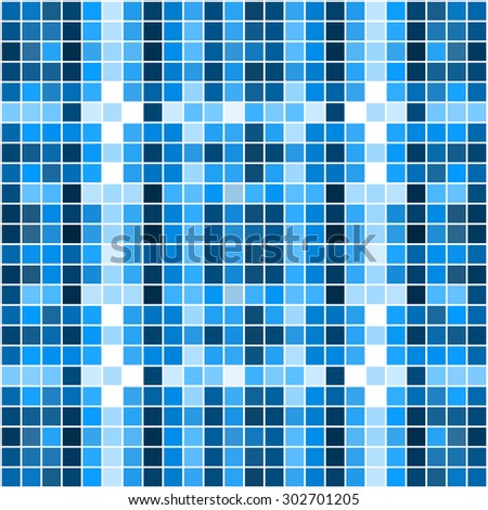 Colorful square pixel mosaic background. Vector illustration. Eps 10