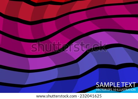 Colorful squared rainbow background  illustration - Vector colorful abstract background template - stock vector