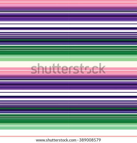 Colorful Striped Background. Rainbow Colors Stripes. Straight Horizontal Lines. Thin stripe optical design. Abstract pattern with psychedelic colors for textile, paper and wrapping. - stock vector