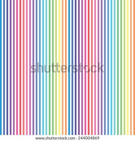 Colorful Stripes Background Pattern
