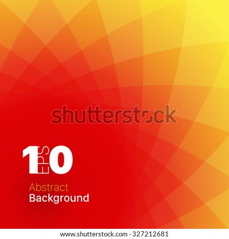 Colorful Sunny Abstract Background - stock vector