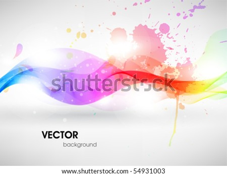 Colorful surface. Vector abstract background - stock vector